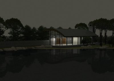 mcguire cabin architects upper state new york