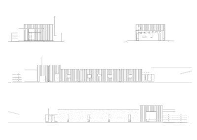 Santa Rita art studio elevations