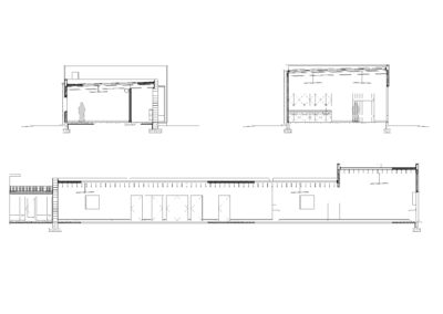 Santa Rita art studio sections