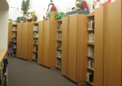 book shelf orem children library architects
