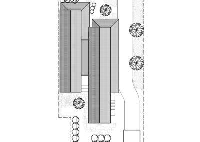 n street residence site plan
