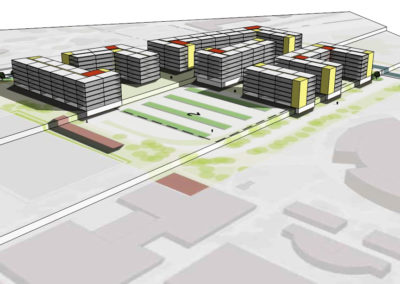 u of u south campus housing masterplan architects