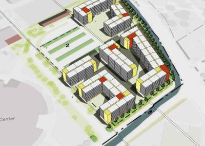 u of u south campus housing masterplan architects