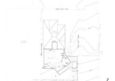 w residence-site plan architect salt lake city